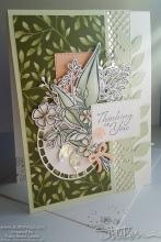 Thinking Of You Soft Floral Card | Tracy Marie Lewis | www.stuffnthingz.com