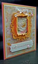 Retiring Bright Floral Blooms Card   Tracy Marie Lewis   www.stuffnthingz.com