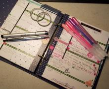 My Planner - Organization Made Pretty | Tracy Marie Lewis | www.stuffnthingz.com