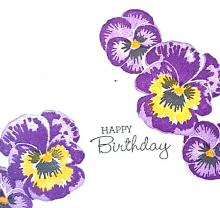 Simple Stamping Pansy Patch Card Fronts | Tracy Marie Lewis | www.stuffnthingz.com