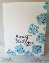 retiring bow birthday card | Tracy Marie Lewis | www.stuffnthingz.com