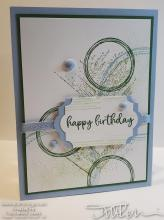 Retiring Showcase - Grunge Birthday Circles Need Fixing | Tracy Marie Lewis | www.stuffnthingz.com
