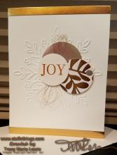 Stamp Camp - Copper Joy Christmas Card | Tracy Marie Lewis | www.stuffnthingz.com