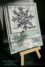 Let It Snow - Holtz Snowflake Blueprints | Tracy Marie Lewis | www.stuffnthingz.com