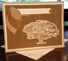 Rooted In Nature Sympathy Card | Tracy Marie Lewis | www.stuffnthingz.com