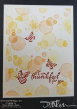 Thankful Butterfly Beginning Stamper Card | Tracy Marie Lewis | www.stuffnthingz.com