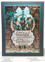 Sneak Peek - Holiday Catalog - Kindness Card   Tracy Marie Lewis   www.stuffnthingz.com