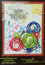 Window Card Front Handmade Card Tutorial | Tracy Marie Lewis | www.stuffnthingz.com