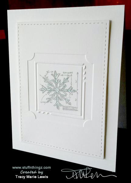Mini Snowflake Card