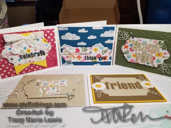 Alternatives - Paper Pumpkin February 2018 - Wildflower Wishes   Tracy Marie Lewis   www.stuffnthingz.com