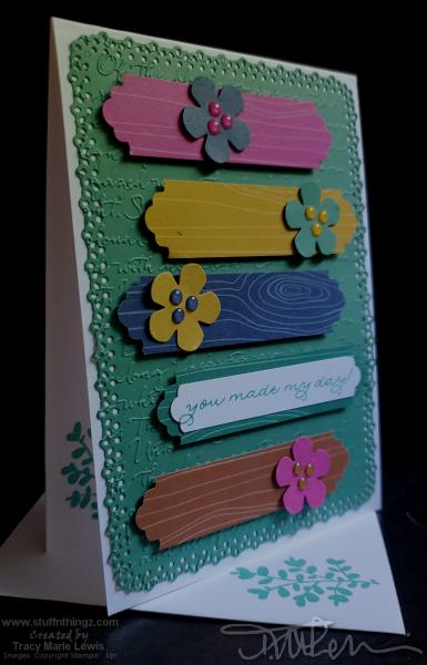 In Colors Made My Day Card | Tracy Marie Lewis | www.stuffnthigz.com
