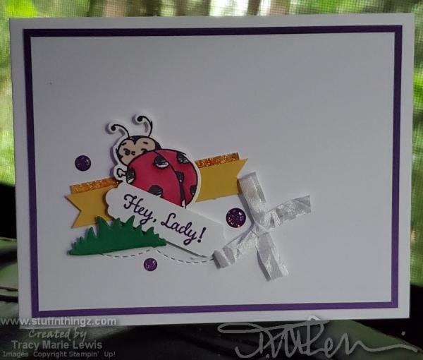 Retiring Hey Lady Card | Tracy Marie Lewis | www.stuffnthingz.com