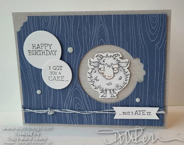 Masculine Funny Birthday Card   Tracy Marie Lewis   www.stuffnthingz.com