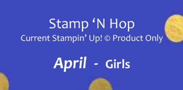 April 2019 Stamp N Hop | Tracy Marie Lewis | www.stuffnthingz.com