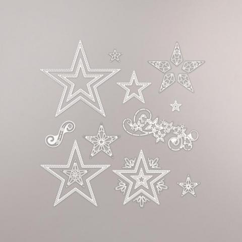 Stitched Stars Dies