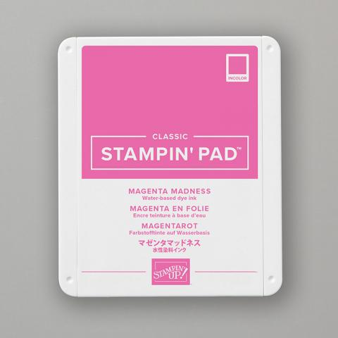 Magenta Madness Classic Stampin' Pad by Stampin' up!