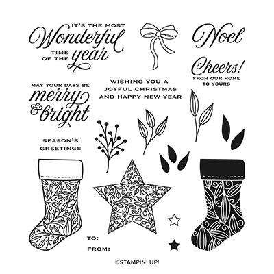 Tidings & Trimmings Photopolymer Stamp Set