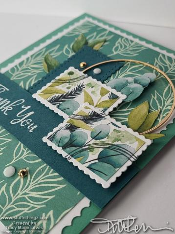 Quick Take - Postage Card Close Up   Tracy Marie Lewis   www.stuffnthingz.com