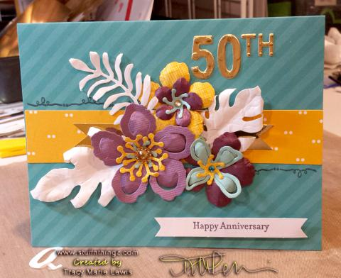 Botanical Blooms and Tin of Cards | Tracy Marie Lewis | www.stuffnthingz.com
