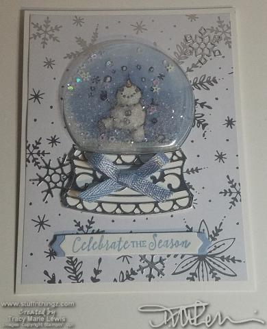 Snowman Merry Christmas Card #6 | Tracy Marie Lewis | www.stuffnthingz.com