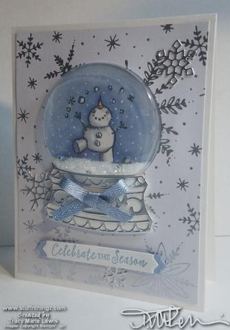 Snowman Merry Christmas Card #6 Angle | Tracy Marie Lewis | www.stuffnthingz.com