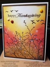 Distress Oxide Thanksgiving Card Project | Tracy Marie Lewis | www.stuffnthingz.com