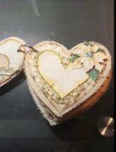 Shappy Chic Heart Mini Album - created by Tracy Marie Lewis - www.stuffnthingz.com