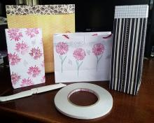 Tutorial - No Cut And No Measure Easy To Make Paper Gift Bag | Tracy Marie Lewis | www.stuffnthingz.com