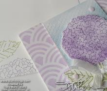 Fun Fold Friday - Hydrangea Haven | Tracy Marie Lewis | www.stuffnthingz.com
