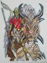A Goblin And His Yak Dragon | Tracy Marie Lewis | www.stuffnthingz.com