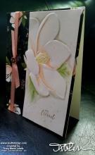 Retiring - Shimmer White Magnolia Friend Card| Tracy Marie Lewis | www.stuffnthingz.com
