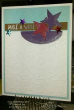 Make A Wish Upon A Star Card | Tracy Marie Lewis | www.stuffnthingz.com