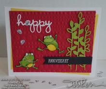Mom's Anniversary Card | Tracy Marie Lewis | www.stuffnthingz.com