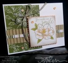 "One Sheet Wonder 3"" x 4"" - Smile Card | Tracy Marie Lewis | www.stuffnthingz.com"