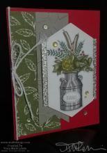 Thanks One Sheet Wonder Card | Tracy Marie Lewis | www.stuffnthingz.com