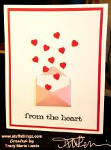 From The Heart in White Card   Tracy Marie Lewis   www.stuffnthingz.com