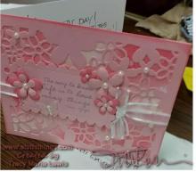 Fancy Layered Card Post USPS Trek | Tracy Marie Lewis | www.stuffnthingz.com