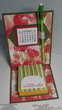 Poppies Calendar Desk Accessory | Tracy Marie Lewis | www.stuffnthingz.com