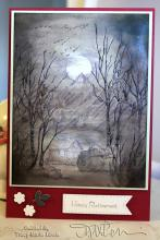 card picked as one of the favorites of 2015 at Split Coast Stampers - Zineth: Tracy Marie Lewis